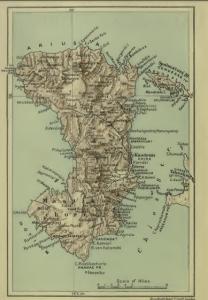 Ancienne Carte de Chios
