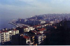 Vue de Smyrne, X. Forneris, 2001